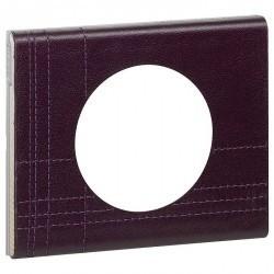 Рамка 1 пост Legrand CELIANE, кожа пурпур, 069441