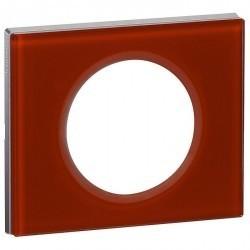 Рамка 1 пост Legrand CELIANE, смальта кармин, 069471
