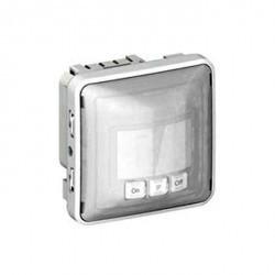 Датчик движения Legrand PLEXO 55, до 400 Вт, серый/белый, 069501