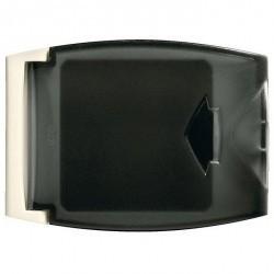 Переключатель 2-клавишный Legrand PLEXO 55, скрытый монтаж, серый, 069538