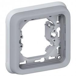 Рамка 1 пост Legrand PLEXO 55, серый, 069681