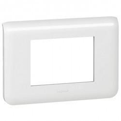 Рамка 3 модуля Legrand MOSAIC, белый, 078803