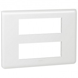 Рамка 6+6 модулей Legrand MOSAIC, белый, 078836