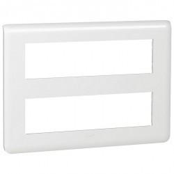 Рамка 8+8 модулей Legrand MOSAIC, белый, 078837