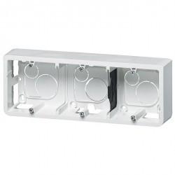 Mosaic Коробка накладная 6,8 или 3х2 мод. 40 мм для суппорта арт. №080253