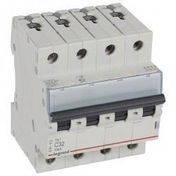 Автоматический выключатель Legrand TX³ 4P 32А (C) 10кА, 403961