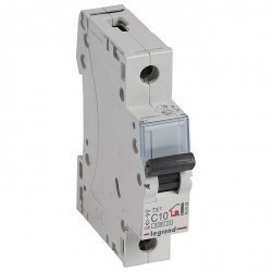 Автоматический выключатель Legrand TX³ 1P 10А (C) 6кА, 404026