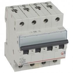 Автоматический выключатель Legrand TX³ 4P 50А (C) 6кА, 404075
