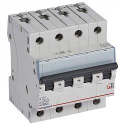 Автоматический выключатель Legrand TX³ 4P 63А (C) 6кА, 404076