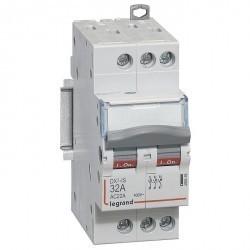 Выключатели-разъединители DX³-IS - 3П - 400 В~ - 32 А - 2 модуля