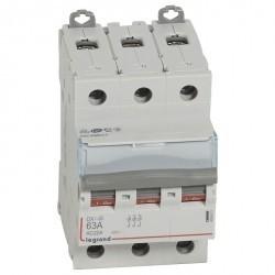 Выключатели-разъединители DX³-IS - 3П - 400 В~ - 60 А - 3 модуля
