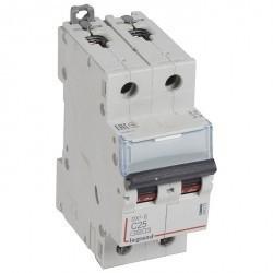 Автоматический выключатель Legrand DX³-E 2P 25А (C) 6кА, 407279