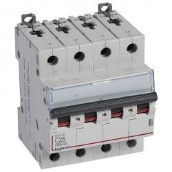 Автоматический выключатель Legrand DX³ 4P 25А (C) 6кА, 407307