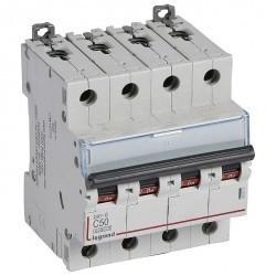 Автоматический выключатель Legrand DX³ 4P 50А (C) 6кА, 407310