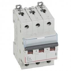 Автоматический выключатель Legrand DX³ 3P 16А (B) 10кА, 407561