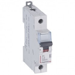 Автоматический выключатель Legrand DPX³ 1P 3А (C) 10кА, 407664