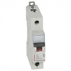 Автоматический выключатель Legrand DPX³ 1P 6А (C) 10кА, 407666