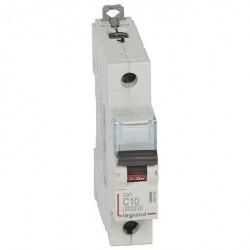 Автоматический выключатель Legrand DPX³ 1P 10А (C) 10кА, 407668