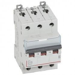 Автоматический выключатель Legrand DX³ 3P 16А (D) 10кА, 408089
