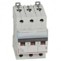 Автоматический выключатель Legrand DX³ 3P 16А (C) 16кА, 409254
