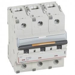 Автоматический выключатель Legrand DX³ 3P 100А (C) 25кА, 409789