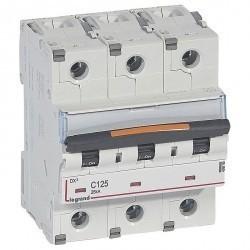 Автоматический выключатель Legrand DX³ 3P 125А (C) 25кА, 409790