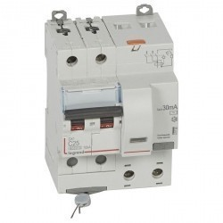 Дифавтомат Legrand DX³ 2P 25А (C) 10кА 30мА (AC), 411160