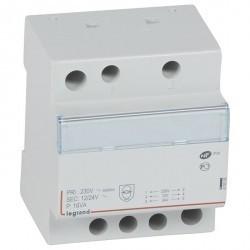 Трансформатор обеспечения безопасности - 230 В/12 В или 24 В - 16 ВА