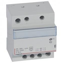 Трансформатор обеспечения безопасности - 230 В/12 В или 24 В - 25 ВА