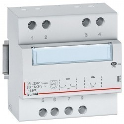 Трансформатор обеспечения безопасности - 230 В/12 В или 24 В - 63 ВА