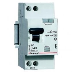 Дифавтомат Legrand RX3 1P+N 6А (C) 6кА 30мА (AC), 419396