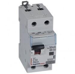 Дифавтомат Legrand RX3 1P+N 10А (C) 6кА 30мА (AC), 419397
