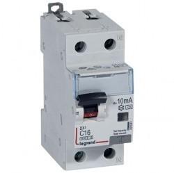 Дифавтомат Legrand RX3 1P+N 16А (C) 6кА 30мА (AC), 419399