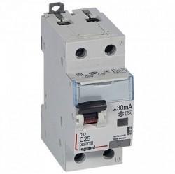 Дифавтомат Legrand RX3 1P+N 25А (C) 6кА 30мА (AC), 419401