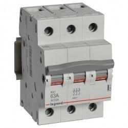 RX3 Выключатель-разъединитель 63А 3П