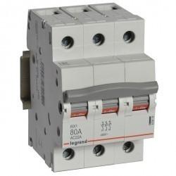 RX3 Выключатель-разъединитель 80А 3П