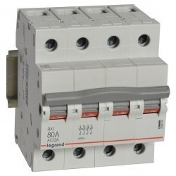 RX3 Выключатель-разъединитель 80А 4П