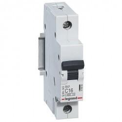 Автоматический выключатель Legrand RX3 1P 16А (C) 4,5кА, 419664