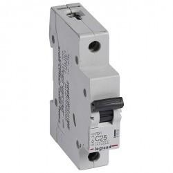 Автоматический выключатель Legrand RX3 1P 25А (C) 4,5кА, 419666