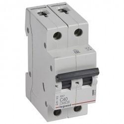Автоматический выключатель Legrand RX3 2P 40А (C) 4,5кА, 419701