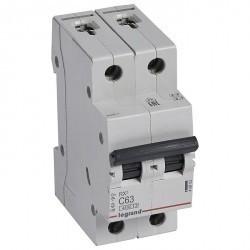 Автоматический выключатель Legrand RX3 2P 63А (C) 4,5кА, 419703