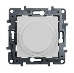 Светорегулятор поворотный Legrand QUTEO-ETIKA, 300 Вт, белый, 672219