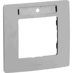 Рамка 1 пост Legrand QUTEO-ETIKA, горизонтальная, белый, 672506