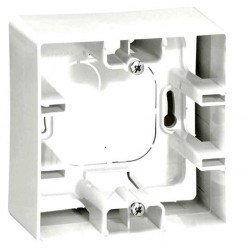 Etika Коробка 1-ная накладная, бел.