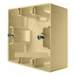 Etika Коробка 1-ная накладная, сл. кость