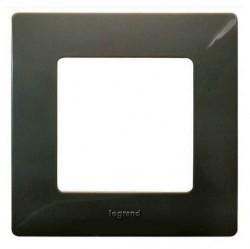 Рамка 1 пост Legrand QUTEO-ETIKA, светлая галька, 672521