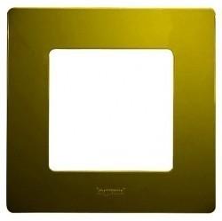 Рамка 1 пост Legrand QUTEO-ETIKA, зеленый папоротник, 672541