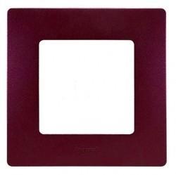 Рамка 1 пост Legrand QUTEO-ETIKA, сливовый, 672561