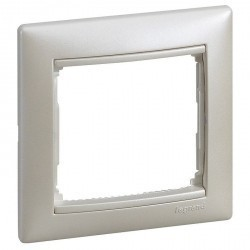 Рамка 1 пост Legrand VALENA DIY, жемчужный, 694350