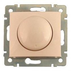 Светорегулятор поворотный Legrand CARIVA DIY, 400 Вт, слоновая кость, 695628